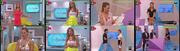 Ana Rita Clara sexy no programa Faz Sentido