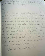 "Journal ""Negative Twilight"" - Excerpt - Day 9"