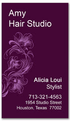 BCS-1043 - salon business card