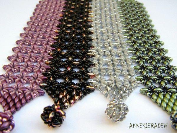 *P O-Lace Bracelet Silver by Akke Jonkhof - DiMarca Online