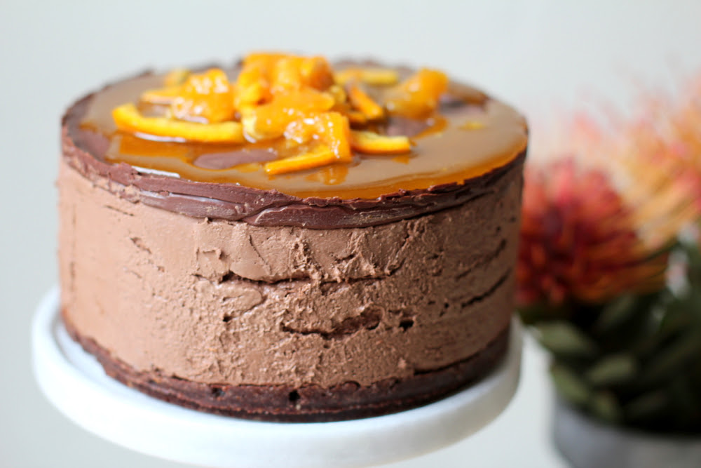 Recipe Box: Orange Chocolate Mousse Cake  Vidya Living