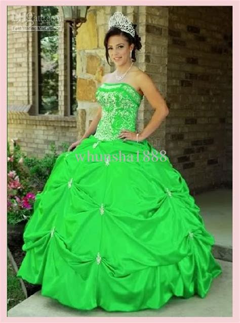 sexy quinceanera wedding prom ball dresscustom color