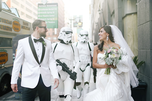 The One With The Nerdy/Geeky Wedding Theme