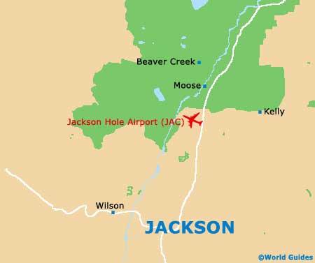 Us Map Jackson Hole