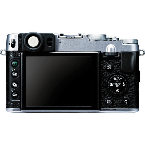 Fujifilm X20 Rear View