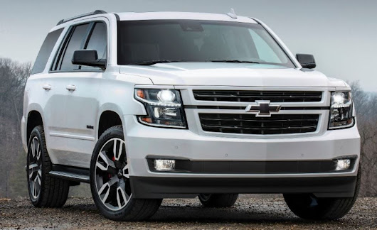 New RST Special Edition Enhances Chevy Tahoe and Suburban Models