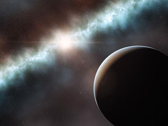 Poeira e objeto que circulam a T Cha podem ser evidências de formação de um novo planeta ou uma anã-marrom