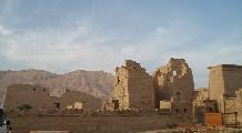 Temple of Ramses III at Medinet Habu