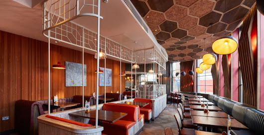 New Design for Nando's Flagship in Ealing Common by Moreno Massey