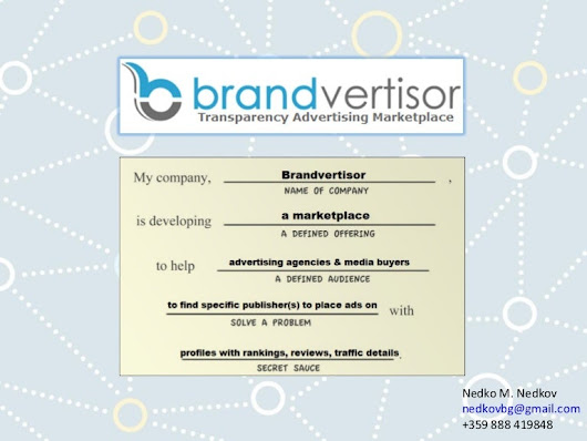Brandvertisor.com - #advertising #startup #Pitch #ads #RTB