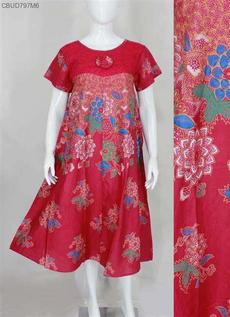 daster batik motif bunga daster longdress babydoll