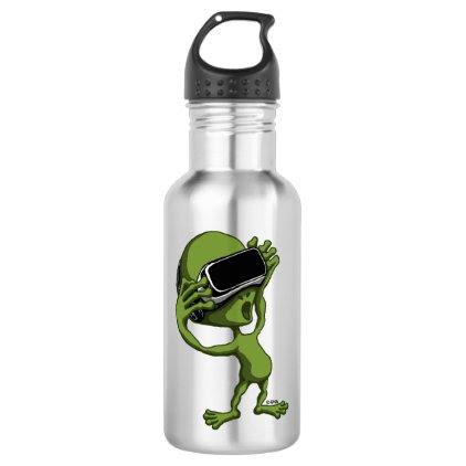 VR Alien Stainless Steel Water Bottle