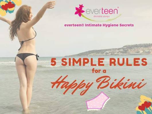 The Diva Diaries: Five Simple Rules for a Happy Bikini Line Area - Womansera