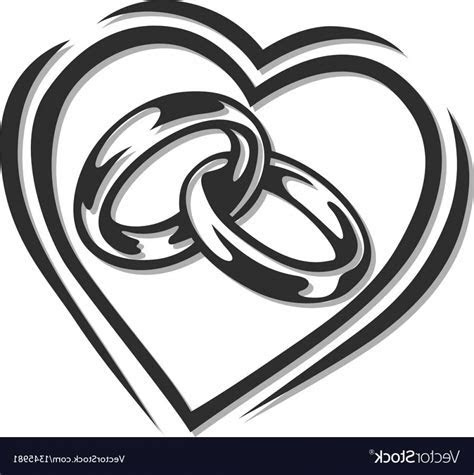 Wedding Ring Vector Art   SOIDERGI