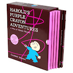 Harold's Purple Crayon Adventures: 6 Picture Book Box Set by Crockett Johnson