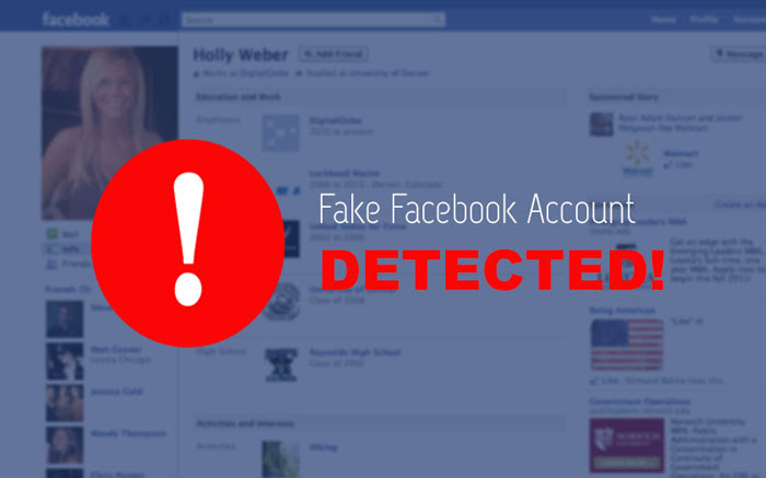 Identify A Fake Facebook Account