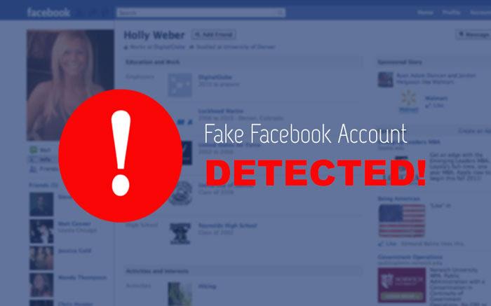 Identify A Fake Facebook Account