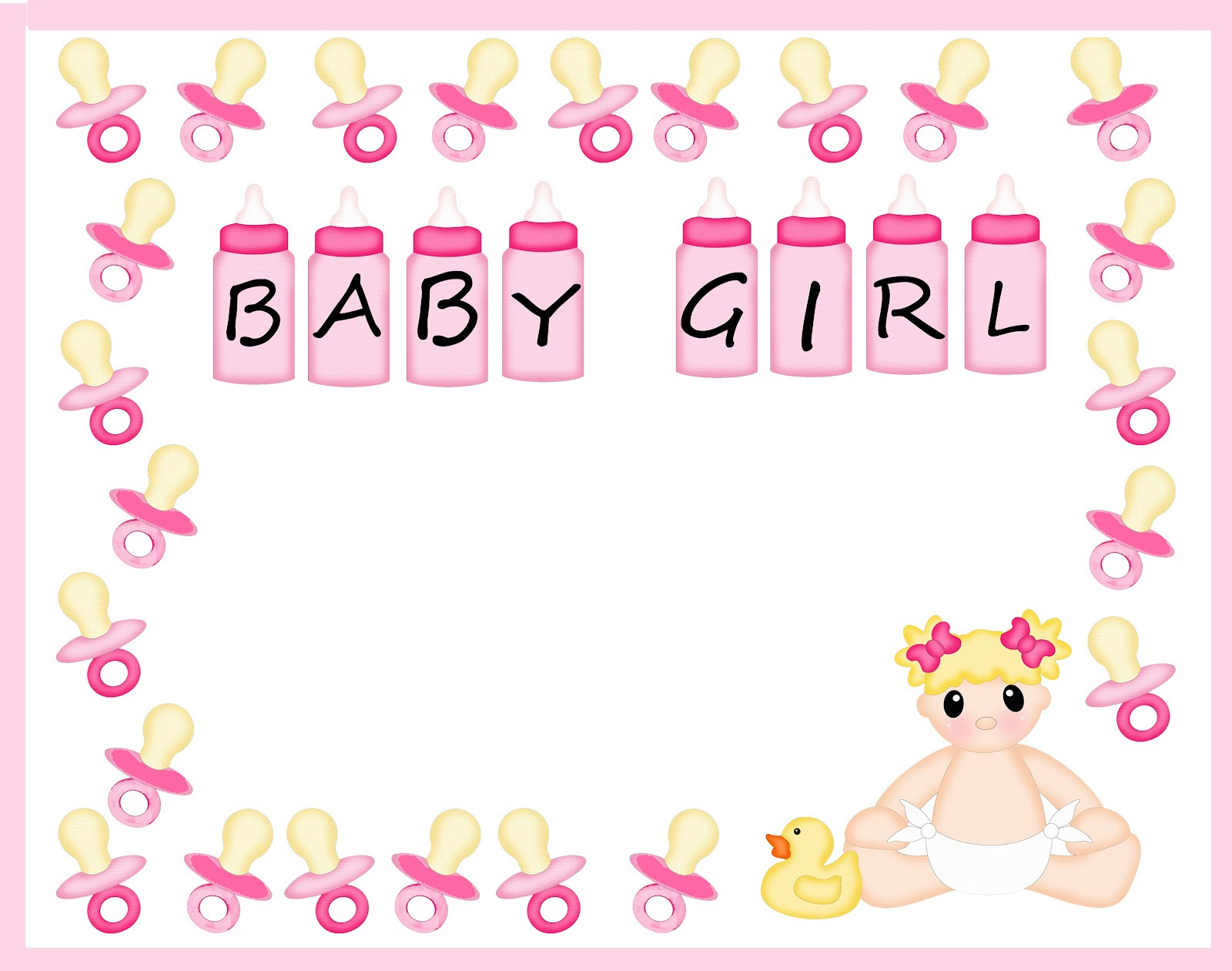 Free Baby Page Border Download Free Clip Art Free Clip Art On