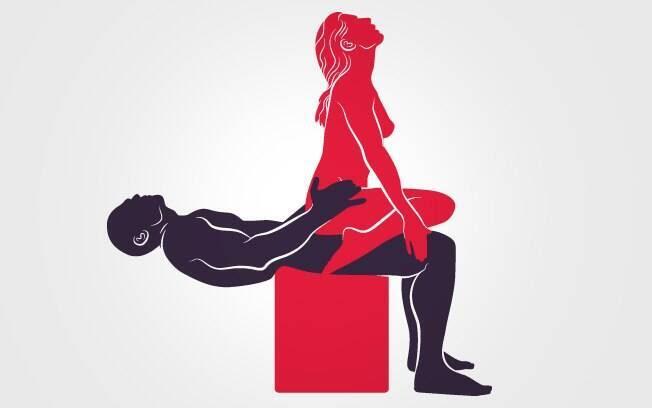 67. ESCADINHA: Com o próprio corpo, ele cria uma base para ela se satisfazer. É preciso ter força no abdome . Foto: Renato Munhoz (Arte iG)