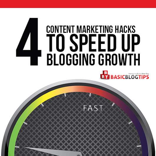 4 Content Marketing Hacks to Speed Up Blogging Growth