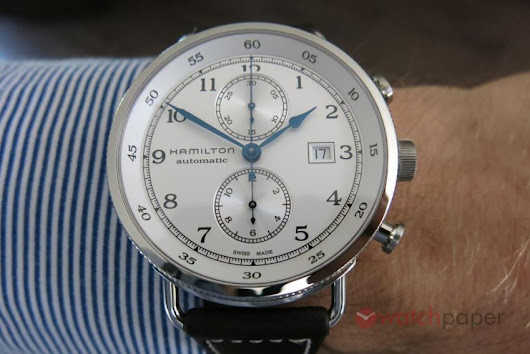 Hamilton Khaki Navy Pilot Pioneer Chronograph — hands-on review | WatchPaper