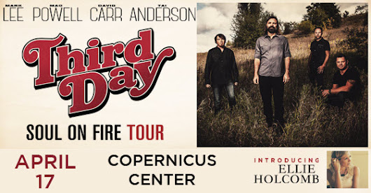 Third Day Soul on Fire Tour - Chicago - Copernicus Center