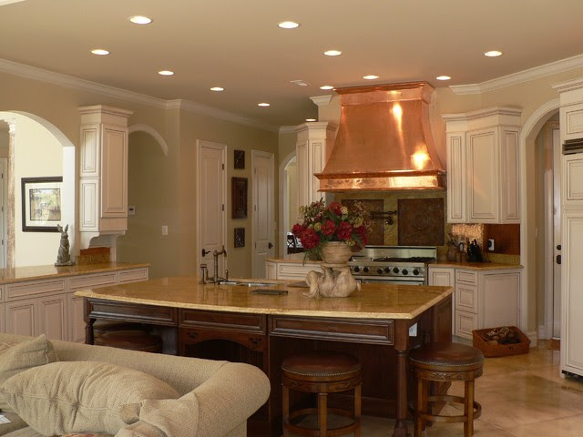 French Country Kitchen Design - traditional - kitchen - dc metro