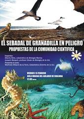 1. Conferencia: El sebadal de Granadilla en peligro. Propuestas de la comunidad científica.