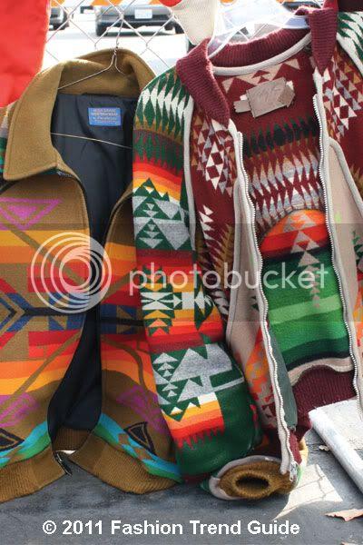 Navajo print jackets