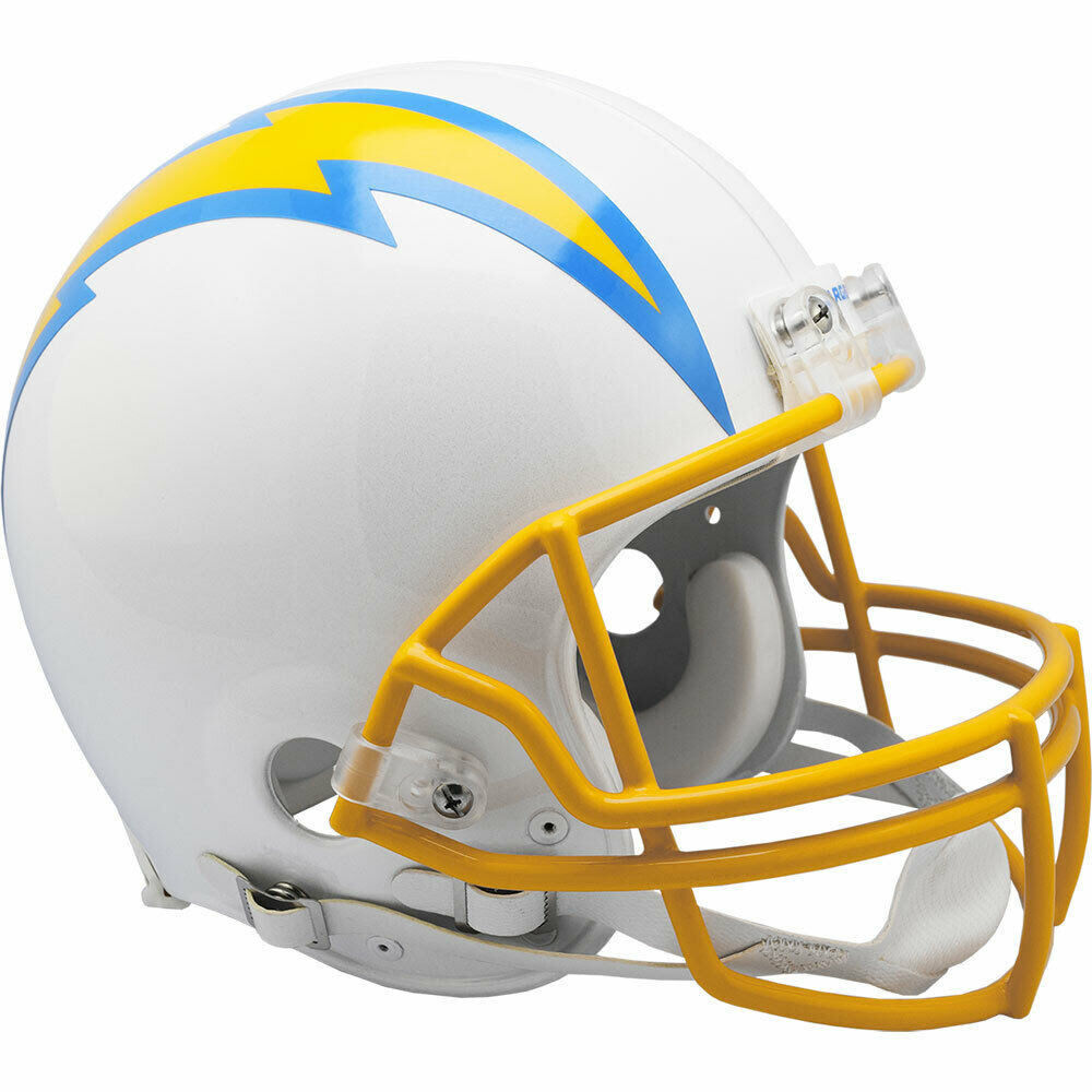 SAN DIEGO CHARGERS RIDDELL NFL FULL SIZE AUTHENTIC PROLINE FOOTBALL HELMET  eBay
