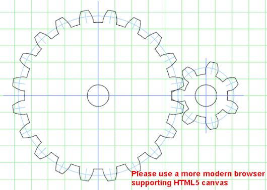 Another gear generator http://woodgears.ca/gear_cutting/template.html