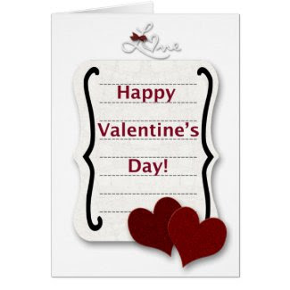 Happy Valentine's Day Love Greeting Cards