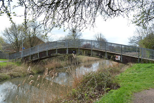 Stouton Croft Footbridge, Droitwich Barge Canal, Droitwich Spa