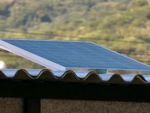 Prefeitura de Itajaí começa a investir em energia solar para locais públicos (Foto: Reprodução/RBS TV)