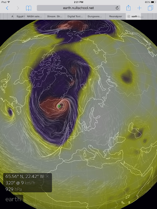 Warm Arctic Storm To Hurl Hurricane Force Winds at UK and Iceland, Push Temps to 72+ Degrees (F) Above Normal at North Pole