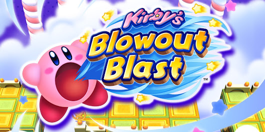 Kirby's Blowout Blast Will Release On July 4th In Japan & July 6th In North America