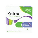 Kimberly-Clark Consumer, 03014, U by Kotex' Regular Pads, Premium, Ultra Thin, w/ Wings, Double Pack, 36/pk, 6 pk/cs