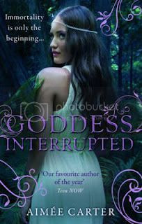 goddess interrupted by aimée carter