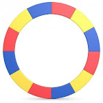 16FT Trampoline Replacement Safety Pad-Multicolor - Color: Multicolor
