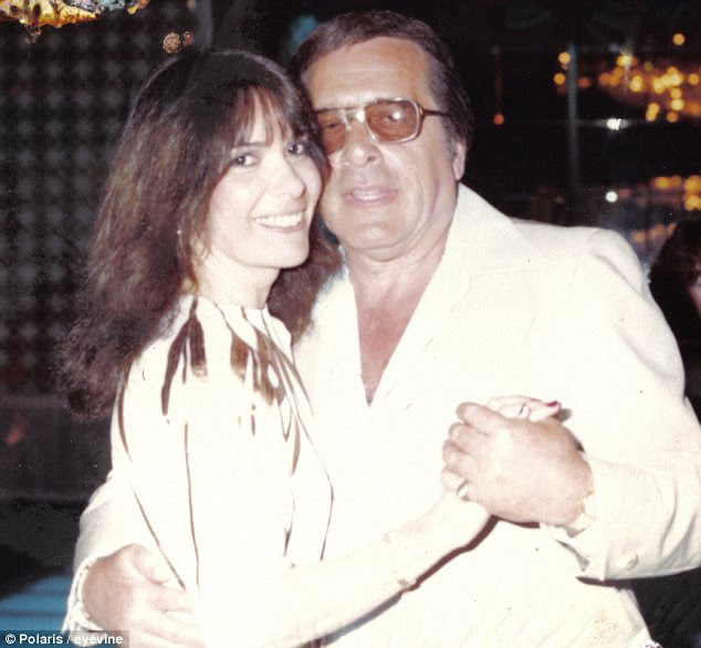 Happier times: A young Linda Schiro with husband Greg Scarpa, the notorious hitman for the Colombo crime family