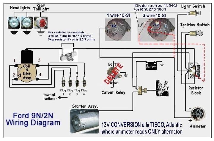 Ford 9n Resistor Block Wiring