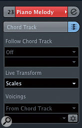 If you want to create a melodic part, the 'Scale' Live Transform setting can be used.