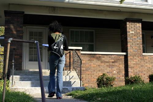 Indianapolis Washington Township GOTV - knocking on doors
