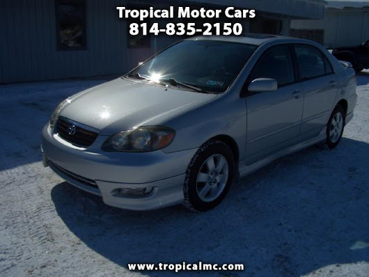 Used 2007 Toyota Corolla for Sale in Erie PA 16505 Tropical Motor Cars