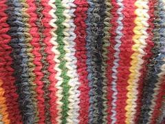 stripy hourglass closeup