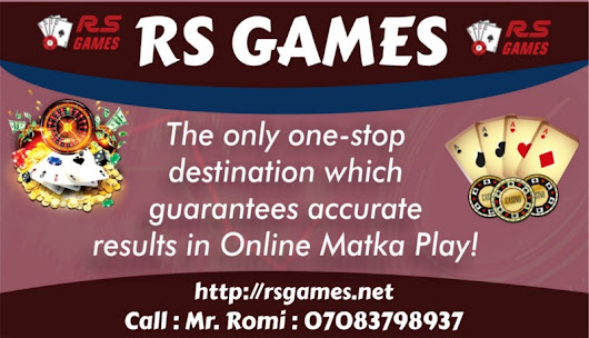 The only one-stop destination which guarantees accurate results in Online Matka Play!