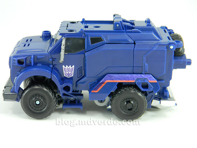 Transformers Breakdown Voyager - Prime Arms Micron - modo alterno