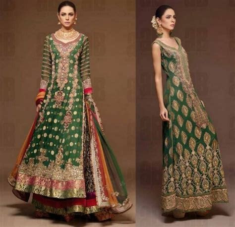 Party Wear & Wedding Lehenga Designs 2016 2017 Collection