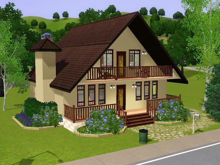 Mod The Sims 18 Maywood Lane Based on Real  Home  Plan