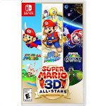 Super Mario 3D All-Stars Nintendo Switch - For Nintendo Switch & Nintendo Switch Lite - Action/Adventure game - ESRB Rated E (Everyone) - Releases 9/1
